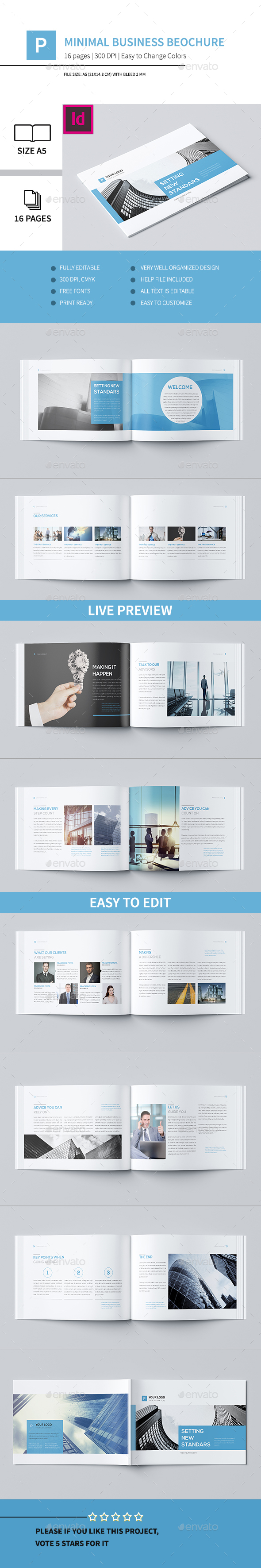 Minimal Business Brochure V - Corporate Brochures