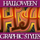 Set of Halloween Graphic Styles for Design - GraphicRiver Item for Sale