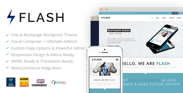 Flash – Responsive WordPress Theme