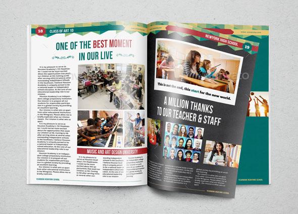 Yearbook powerpoint template yearbook template by zheksha yearbook template design vol 1 by hiro27 graphicriver toneelgroepblik Choice Image