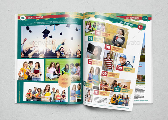 100 year book template how to make your own yearbook dvd yearbook template design vol 1 by hiro27 graphicriver toneelgroepblik Choice Image