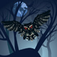 Owl in the Night Forest - GraphicRiver Item for Sale