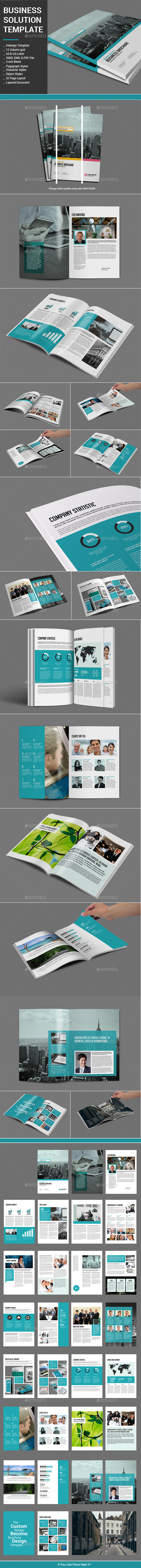 Business Solution Template - Corporate Brochures