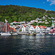 Port Of Old Hanseatic In Bergen - VideoHive Item for Sale