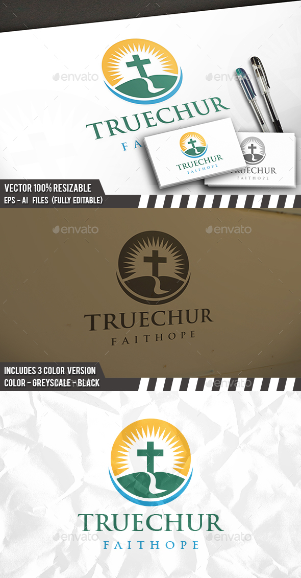Church Road Logo - Nature Logo Templates