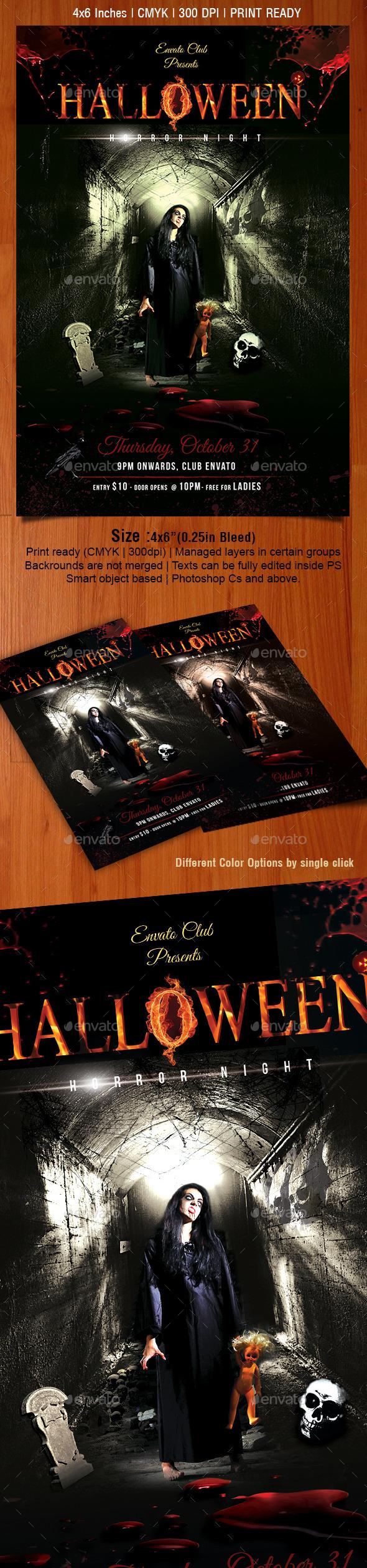 Halloween Flyer - Flyers Print Templates
