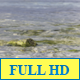 The Waves Break On The Beach - VideoHive Item for Sale