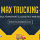 Logistics Flyer And Facebook Cover - GraphicRiver Item for Sale
