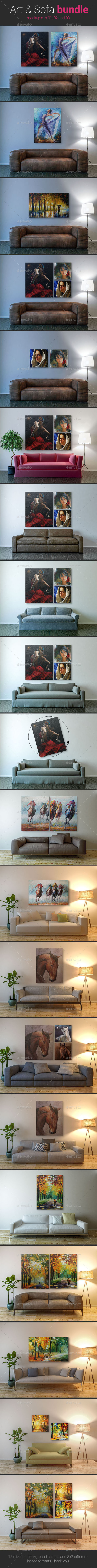 Art & Sofa Bundle - Posters Print