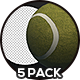 Tennis Ball - 5 Pack - VideoHive Item for Sale