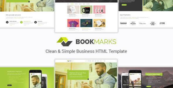 BookMarks – Clean & Simple Business HTML Template