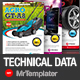 Technical Data Sheet - GraphicRiver Item for Sale