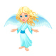 Smiling Angel with Wings - GraphicRiver Item for Sale