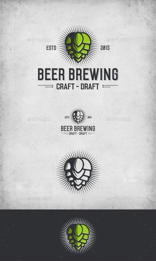Beer Brew - Food Logo Templates