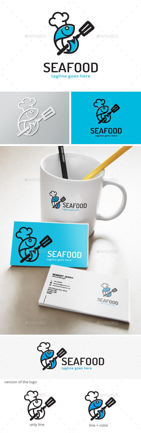 Sea Food - Fish Logo - Animals Logo Templates