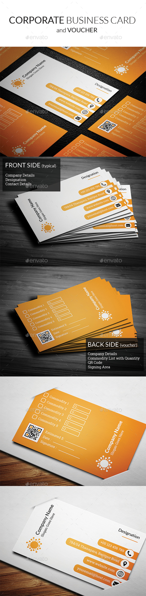 Corporate Business Card vol2 - Corporate Business Cards
