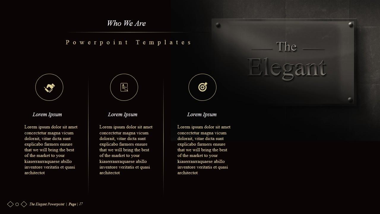 The Elegant Powerpoint Presentations