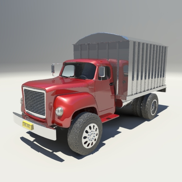 Box Truck - 3DOcean Item for Sale