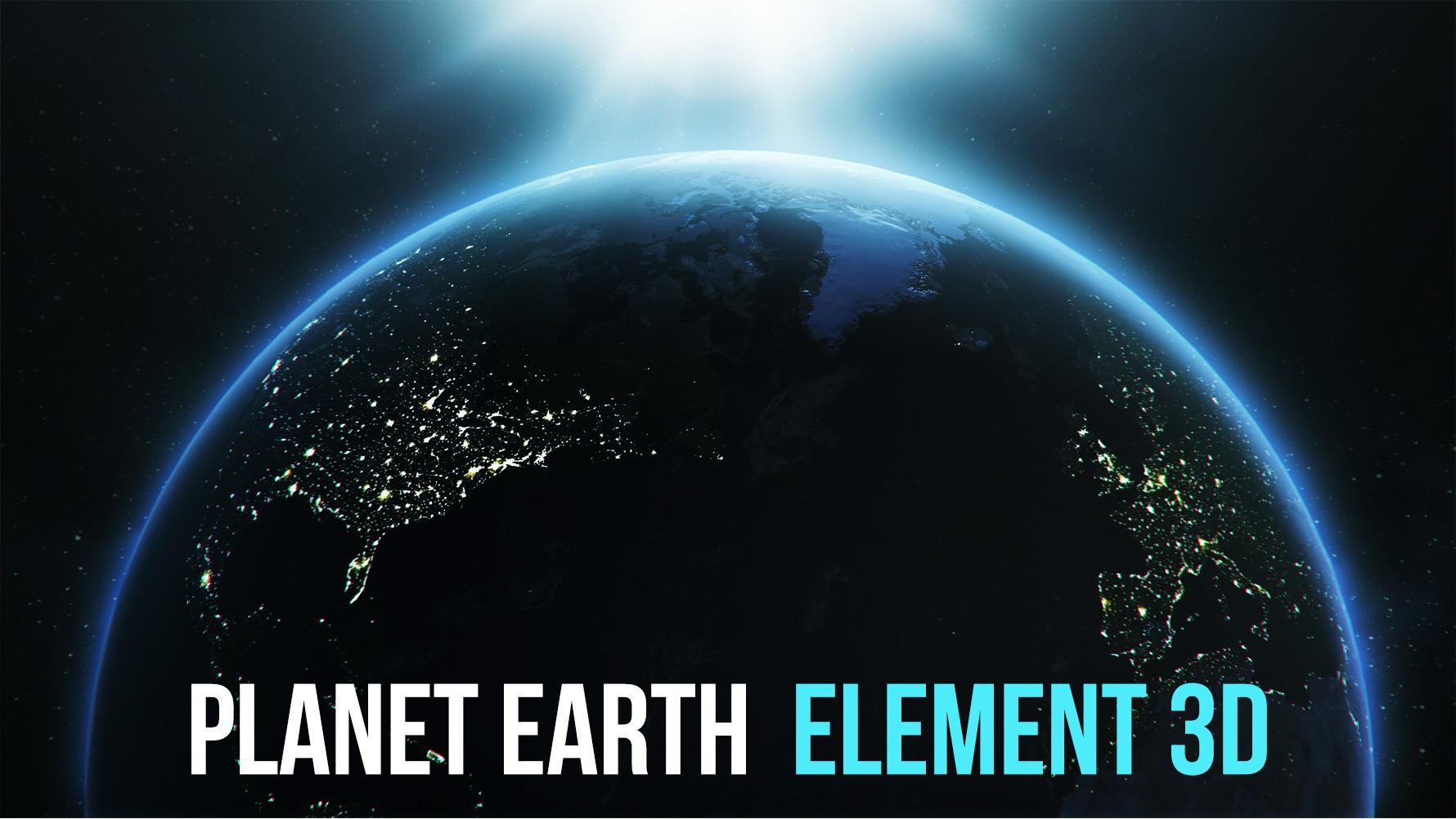 Realistic Earth Element 3d By Pixelgem 3docean