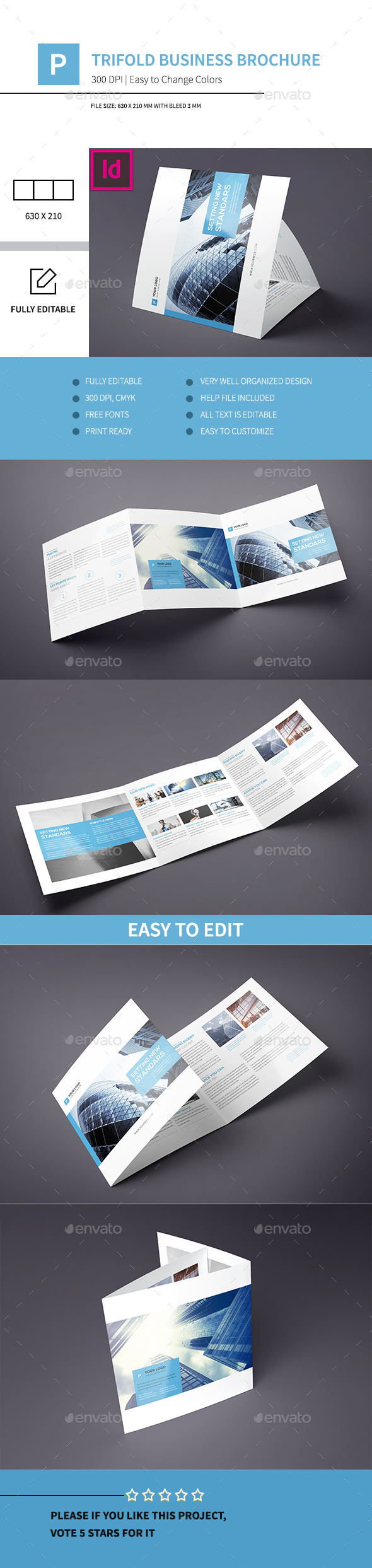 Trifold Business Brochure Indd - Corporate Brochures