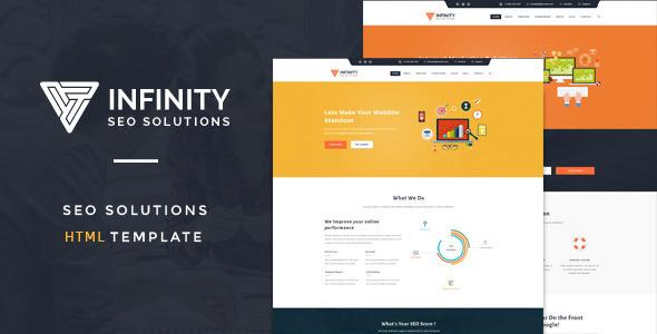 Infinity : Responsive SEO Company HTML Template