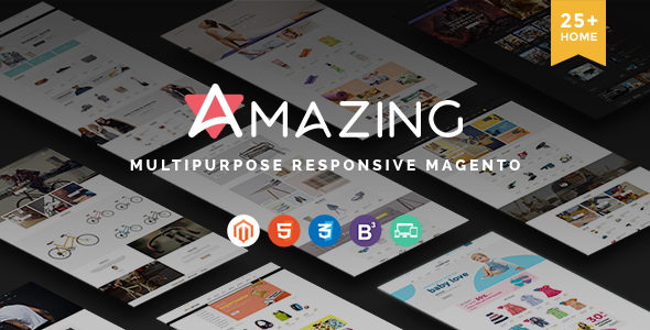 Amazing – Multipurpose Responsive Magento