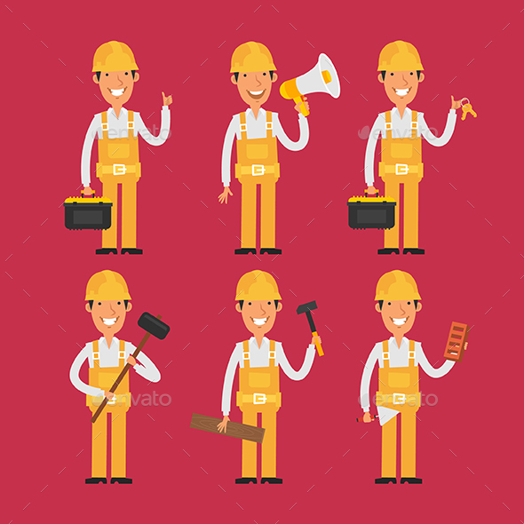 Builder - People Characters