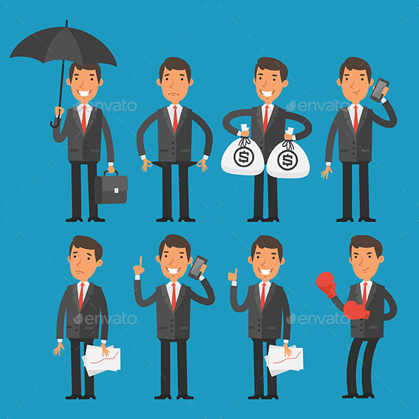 Businessman - People Characters