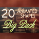 Animated Shapes Big Pack