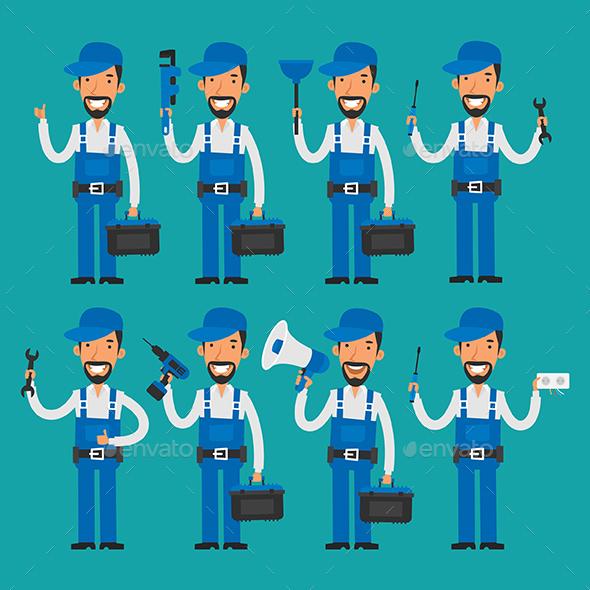 Repairman - People Characters