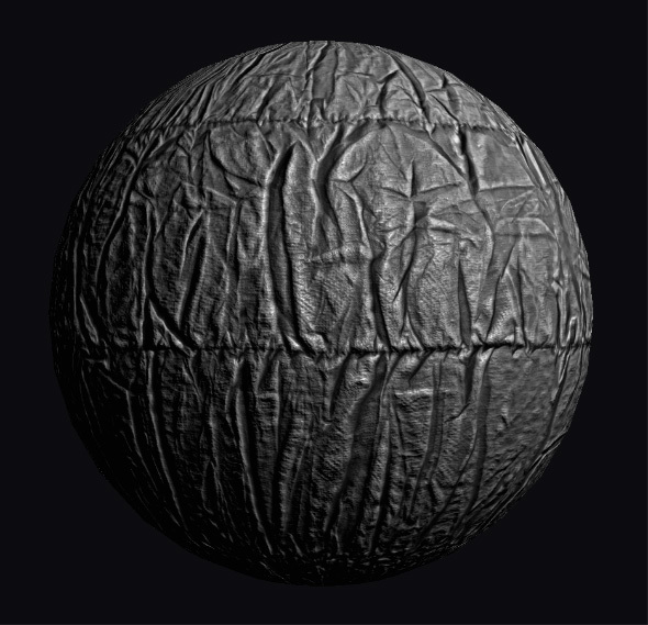 Folds seamless shader - 3DOcean Item for Sale