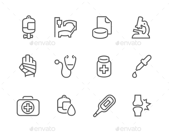 Outline Medical Icons - Icons