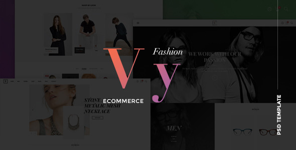 Vy – Fashion eCommerce PSD Template | Multi Layout