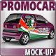 Pizza Delivery Promo Car Mock-up - GraphicRiver Item for Sale
