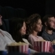 Friends In Cinema Watching a Movie - VideoHive Item for Sale
