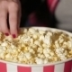Bucket Of Popcorn And a Hand Of The Girl - VideoHive Item for Sale