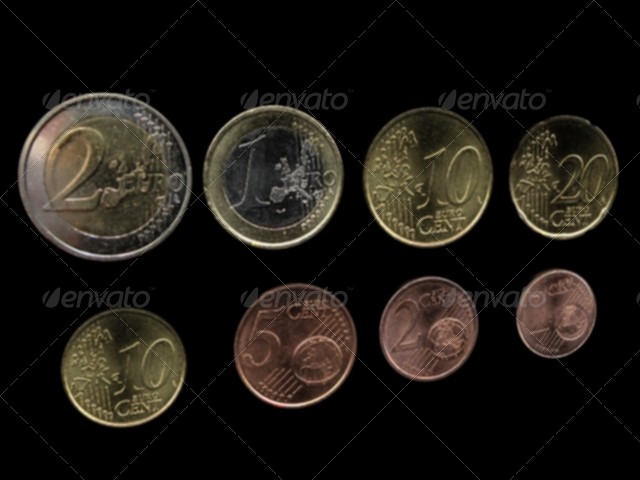 A full set of Euro coins! - 3DOcean Item for Sale