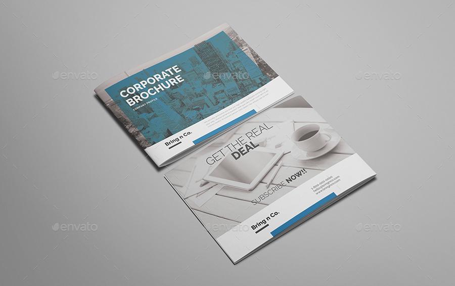 Bring n Co A4 Landscape Brochure