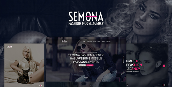 Fashion Semona - Creative Joomla Template - Photography Creative