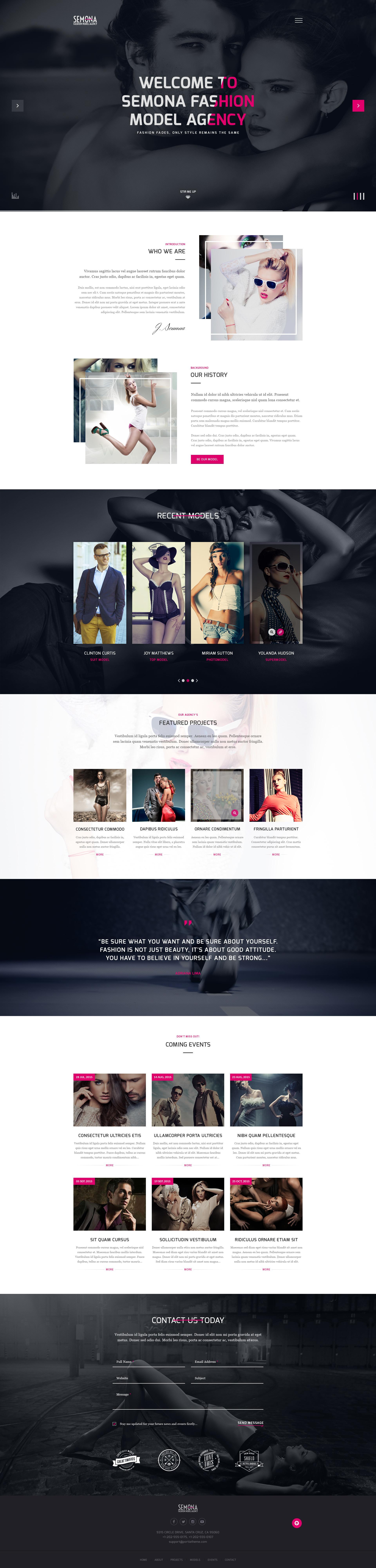 Fashion Semona - Creative Joomla Template by templaza   ThemeForest 18b5ca1ca7a7