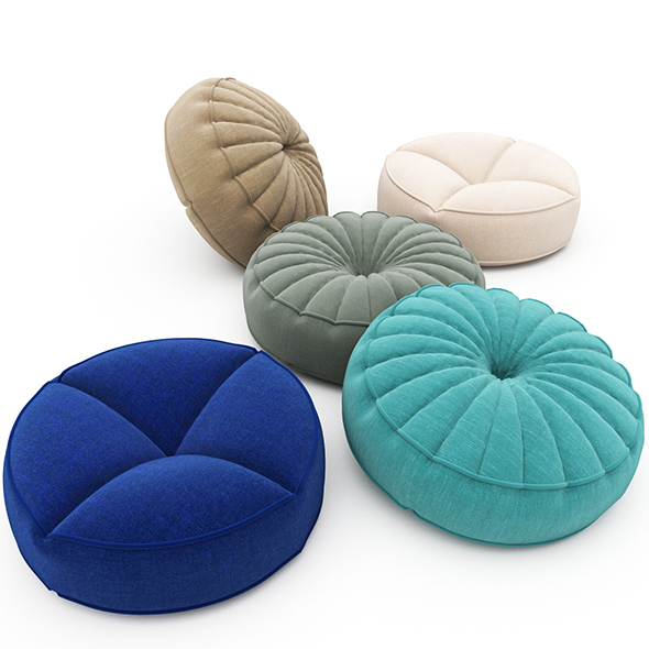 Pillows collection 93 - 3DOcean Item for Sale