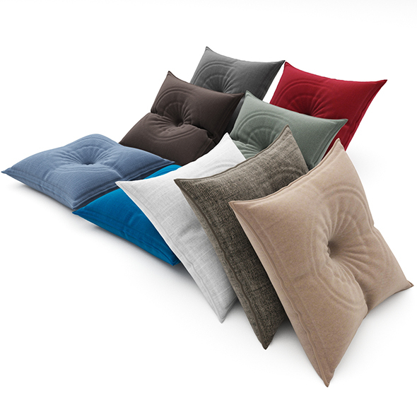 Pillows collection 88 - 3DOcean Item for Sale