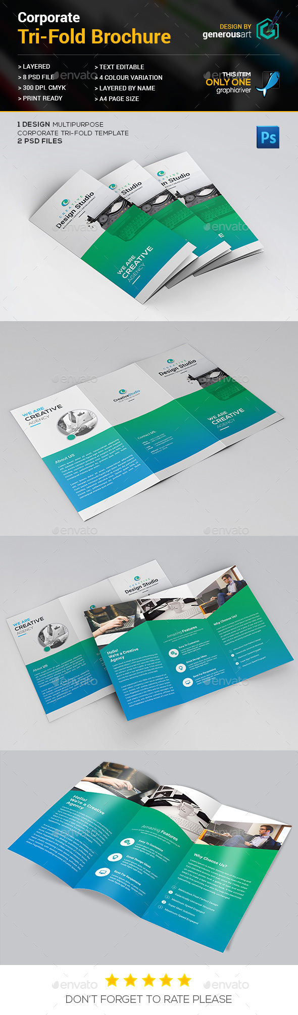 Trifold Brochure_3 - Corporate Brochures