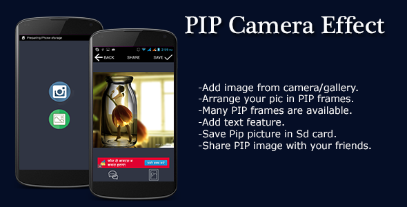 PIP Camera Effect  - CodeCanyon Item for Sale