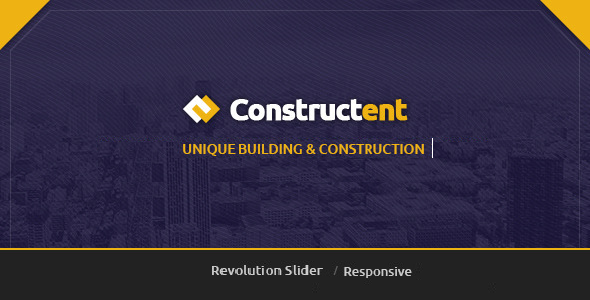 Constructent - Responsive Construction HTML Template