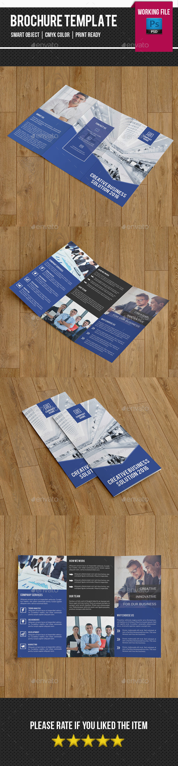 Corporate Trifold Brochure-V264 - Corporate Brochures