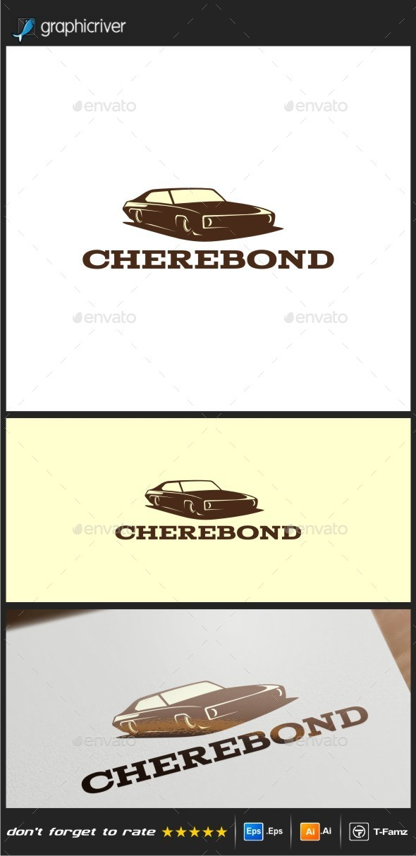 Vintage Car Logo Templates - Objects Logo Templates