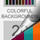 20 Colorful Backgrounds  - GraphicRiver Item for Sale