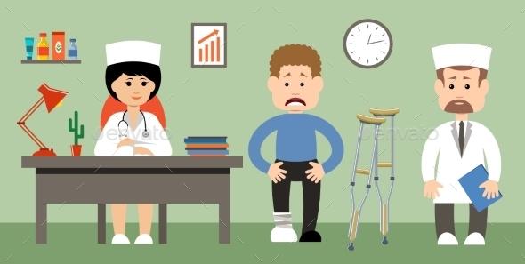 Doctor And Patient - Health/Medicine Conceptual