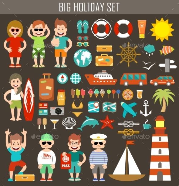 Big Holiday Set - Travel Conceptual